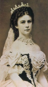 Photograph of Empress Elisabeth on her Coronation Day