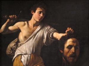 David with Goliath's Head, Caravaggio