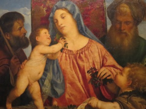 Madonna of the Cherries, Titian