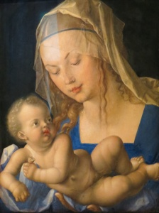 Madonna with the Pear, Durer