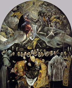 El Greco's Masterpiece, The Burial of the Count of Orgaz at the Iglesia de Santo Tomé