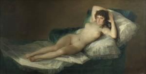 La Maja Desnuda, Goya, 1797