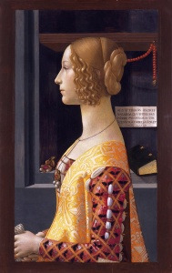 Portrait of Giovanna Tournabuoini, Ghirlandaio, 1488