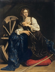 Saint Catherine of Alexandria, Caravaggio, 1598
