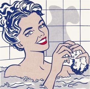 Woman in Bath, Lichtenstein, 1963