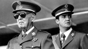 Franco, with Juan Carlos looking left.