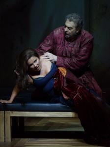 Anna Natrebko and Placido Domingo in Il Travatore