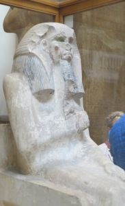 Zoser, depicted in earliest known statue at Cairo Museum